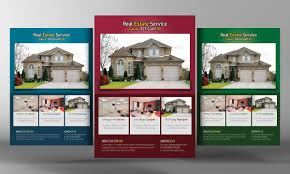 Real Estate Property Flyer Template by Real Estate Flyers Template Flyer Templates Creative Market