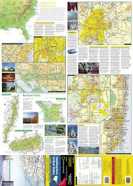 Southeastern United States Map by Southeastern United States Road Map U0026 Travel Guide National