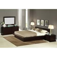 King Size Bed Sets On Sale Lifestyle Solutions Zurich King Size Platform Bedroom Set 5pc