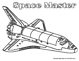 rocket ship coloring page online for kid 7762