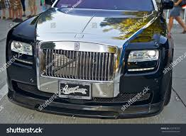 customized rolls royce burbankcalifornia july 26 2014 rolls royce stock photo 212372137