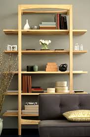 Wood Office Furniture by Modern Wood Office Furniture Leaning Shelves Storage Design City