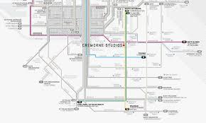 Melbourne Tram Map Cremorne Studios Transport