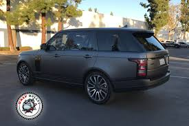 wrapped range rover range rover dark grey stornoway grey metallic land rover range