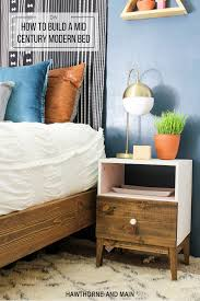 diy mid century modern bed u2013 hawthorne and main