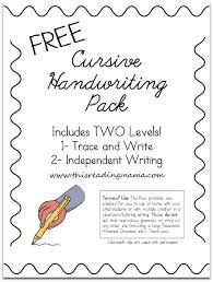 free cursive writing worksheets worksheets releaseboard free