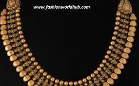 antique gold necklace images Unique antique gold necklace fashionworldhub jpg
