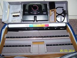 details about brother kh 341 portable knitting machine knitting