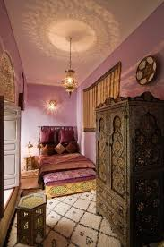 la chambre marocain chambre marocaine avec lustre christine frey photo n 75