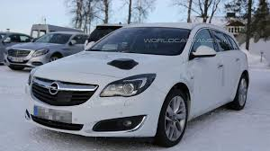 opel insignia 2014 2016 opel insignia mule spied for the first time