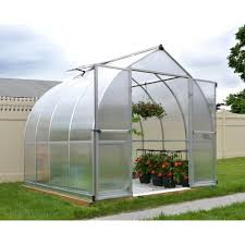 Palram Greenhouse Palram Bella 8x8 Polycarbonate Greenhouse Greenhouses From