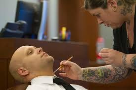 makeup artist in las vegas nv jury should see neo tattoos in las vegas murder trial judge