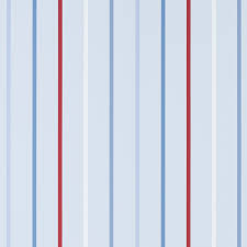 draycott multi blue striped childrens wallpaper from laura ashley