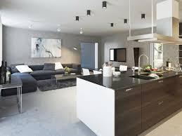 deco maison cuisine ouverte plan maison cuisine ouverte idées décoration intérieure farik us
