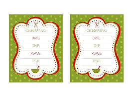 Christmas Party Invitations With Rsvp Cards - printable christmas party invitations printable christmas party