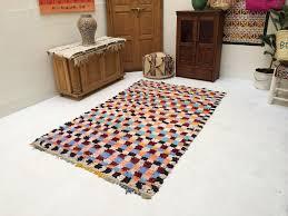 Handmade Moroccan Rugs Boho Rugs Authentic Traditional Handmade Beni Ouarain Moroccan