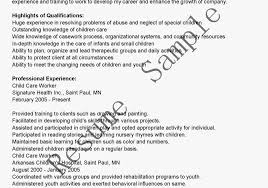 Childcare Resume Examples by Child Care Director Resume Template Examples