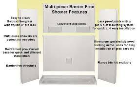 handicap showers wheelchair showers roll in shower