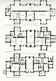 6 gigantic medieval castle floor plans on english country houses