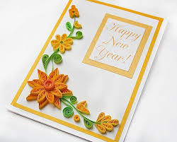 happy new year paper cards 10 best happy new year images on paper quilling