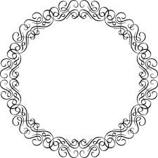 floral frame vector ornament royalty free stock image storyblocks