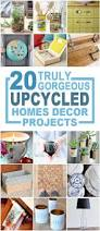 20 truly gorgeous upcycled home décor items you can make craft