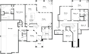 large family floor plans big family house plans two storey family house plans with four