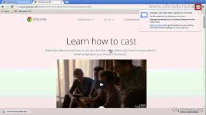cast extension android chromecast how to install the extension