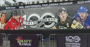nhl centennial fan arena jump back in time in the mobile nhl centennial fan arena museum