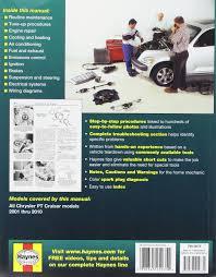 haynes pt cruiser 01 03 manual 0038345250354 amazon com books