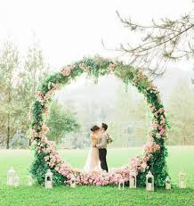 wedding backdrop outdoor here are 15 stunning floral backdrops that can make your wedding