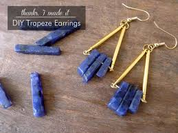 diy earring studs 42 fabulous diy earrings you can make for next to nothing diy