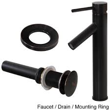 black vessel sink faucet elite 2659orb tall single handle oil rubbed bronze bathroom vessel