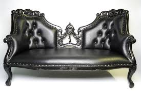 three seater sofa black u2013 blackcraft cult