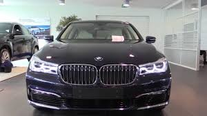 Bmw 7 Series 2016 Interior Bmw 7 Series 2016 Start Up In Depth Review Interior Exterior