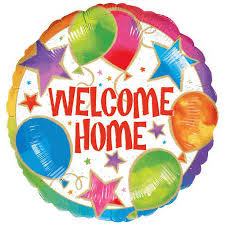 welcome home balloon bouquet welcome home celebration foil balloon big w