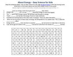 energy worksheet free to download science hidden words game