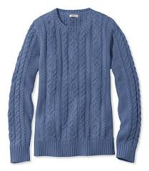 cable sweater s l mixed cable sweater crewneck