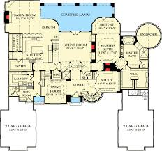 chateau floor plans grand country chateau 17751lv architectural designs