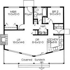 Small 2 Bedroom House Plans I Like The Open Floor Plan But It Would Need Another Bedroom And A