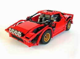 lego bentley lancia stratos made of lego