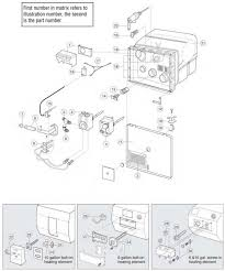 atwood water heater parts diagram wiring diagram for atwood water