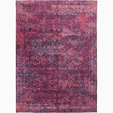 purple and pink area rugs handmade abstract pattern purple pink wool bamboo silk rug 9 x