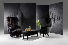 High Back Wing Chairs For Living Room by Tom Dixon U0027s Take On The Wingback Chair 3rings