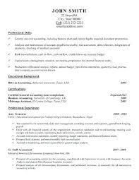 sample resume accountant accountant resume sample and tips resume