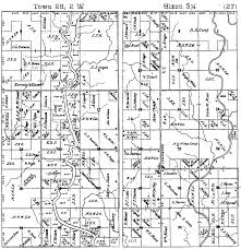 plat maps hixon township history genealogy