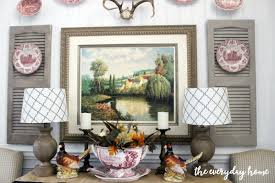 dining room buffet for fall the everyday home