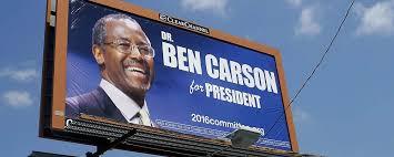ben carson presidential bid caign finance ben carson 2016