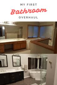 my bathroom overhaul before and after bathroom overhaul