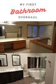 Design My Bathroom My Bathroom Overhaul Before And After Bathroom Overhaul